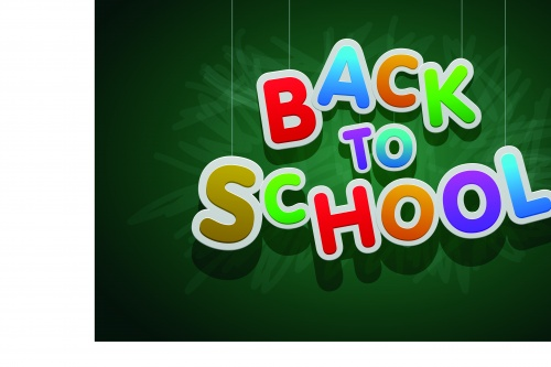 Скоро в школу концепция 10 | Back to school concept vector 10
