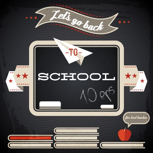 Stock: Back to school background