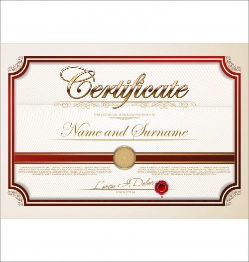 Certificate vector 26