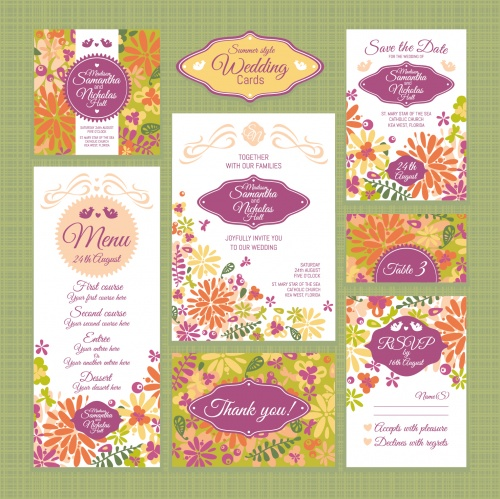 Wedding invitations 6