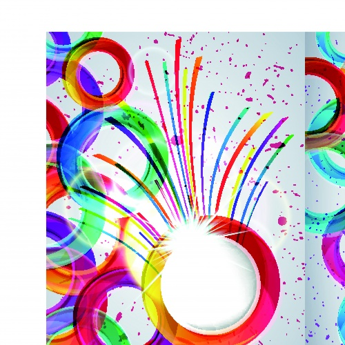 Abstract colorful vector background 7