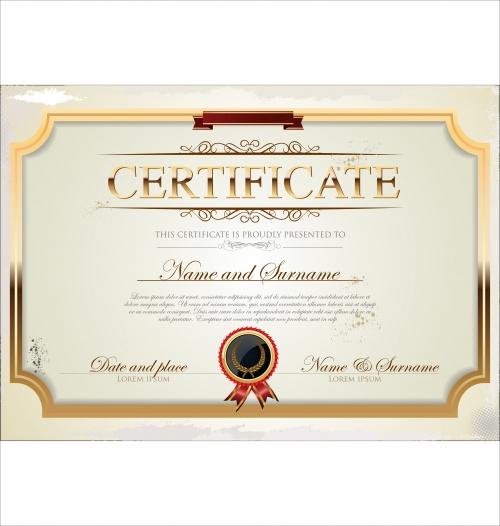 Certificate vector 22
