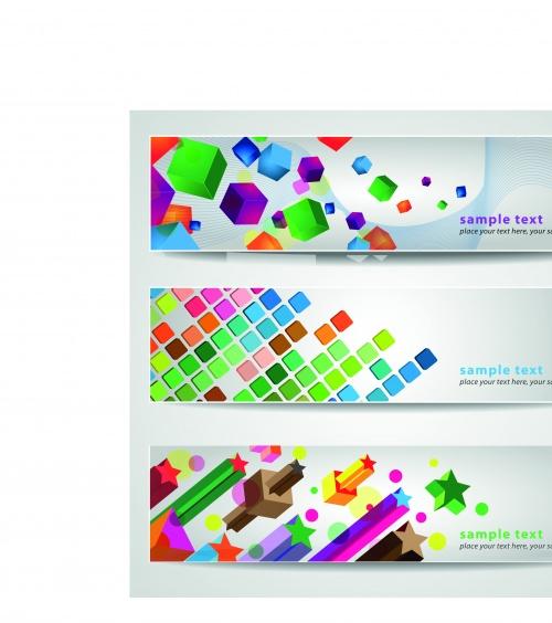 Креативные баннеры | Creative banner vector