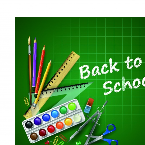 Скоро в школу концепция 7 | Back to school concept vector 7