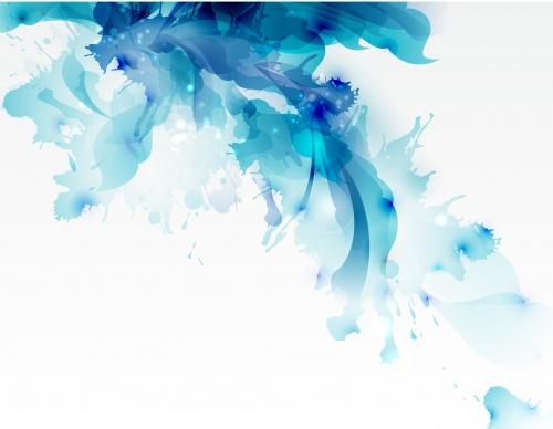 Цветочный абстрактный фон - Векторный клипарт | Vector floral abstract backgrounds