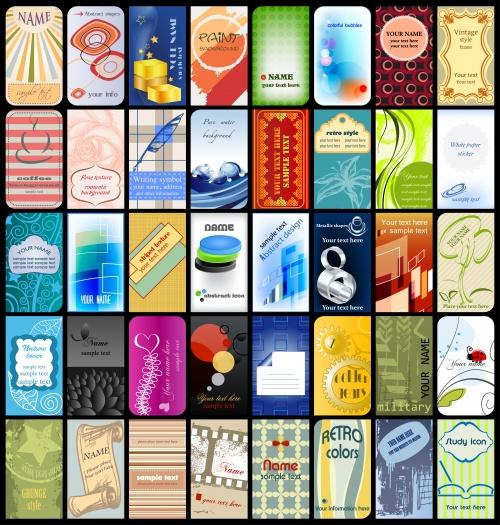 Фоны для визиток #6 - Векторный клипарт