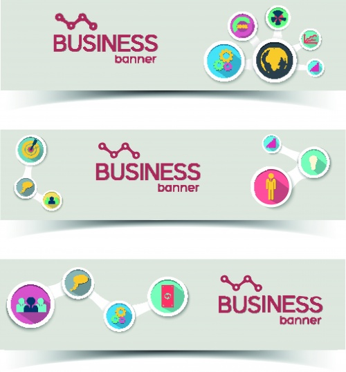 Бизнес баннеры | Business banners vector