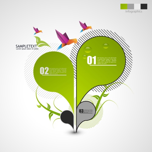 Stock: Abstract green design,web site