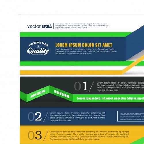 Инфографики креативный дизайн часть 96 | Infographic creative design vector set 96