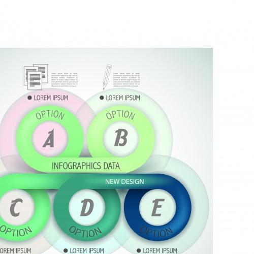 Инфографики креативный дизайн часть 100 | Infographic creative design vector set 100