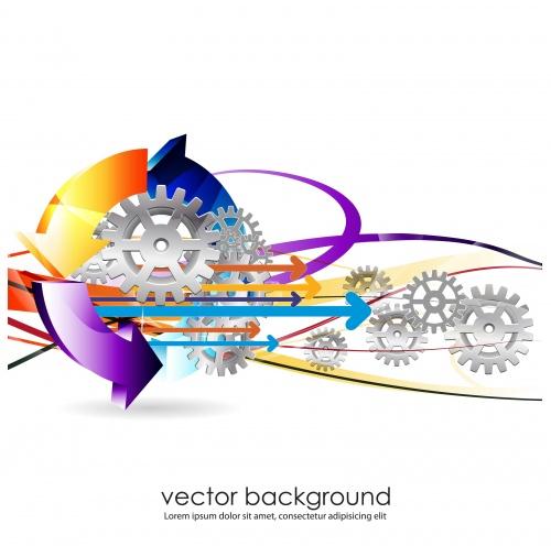 Векторные бизнес фоны / Business Vector Backgrounds - vector stock