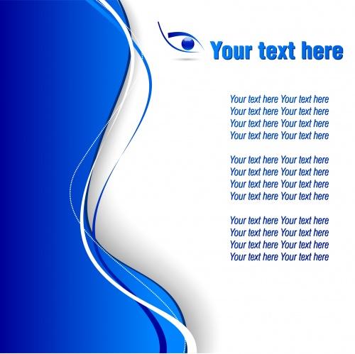 Абстрактные векторные фоны с местом для текста / Backgrounds with place for text - stock photo