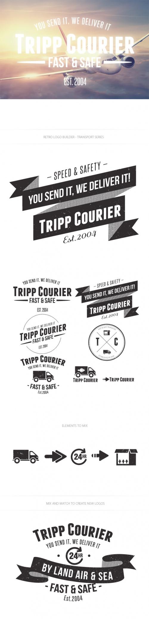 Transport Logo Vector Templates