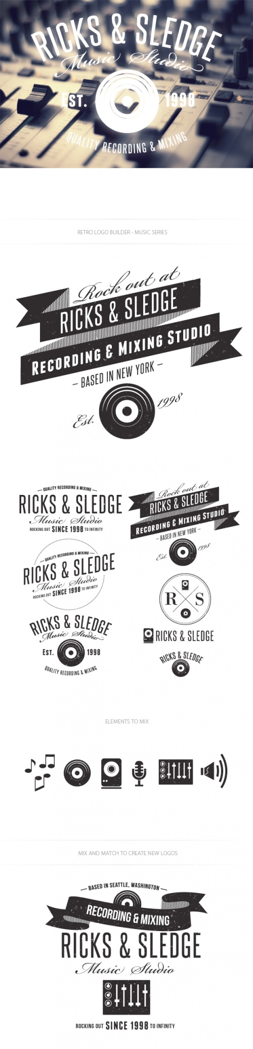 Music Logo Vector Templates