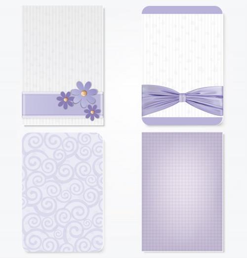 Свадебные фоны, часть 6 / Wedding background, part 6 - vector stock