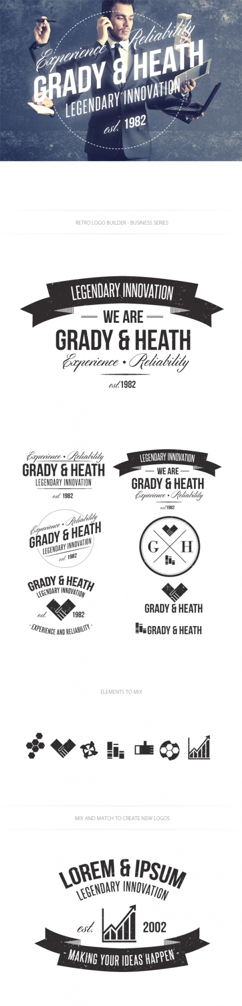 Business Logo Vector Templates