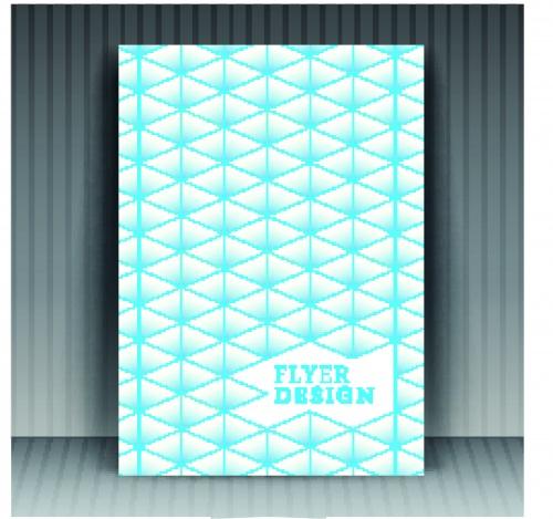 Бизнес флаеры брошюры и обложка журнала 12 | Business flyer brochure and magazine cover vector 12