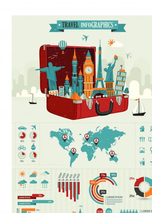 Инфографики креатиный дизайн часть 82 | Infographic creative design vector set 82