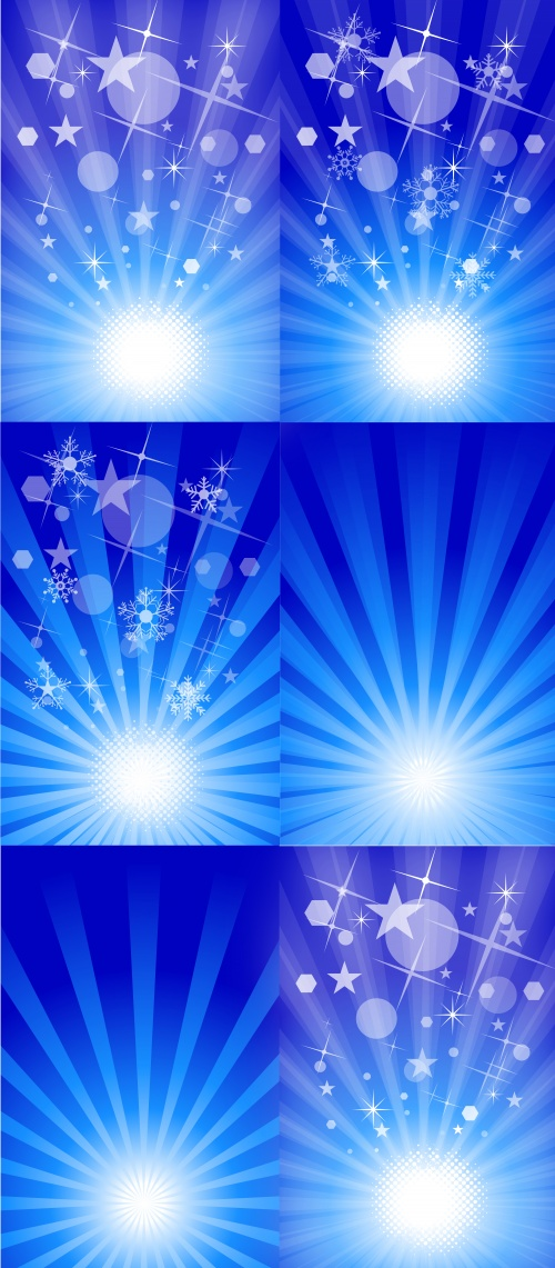 Vector Sunburst Backgrounds