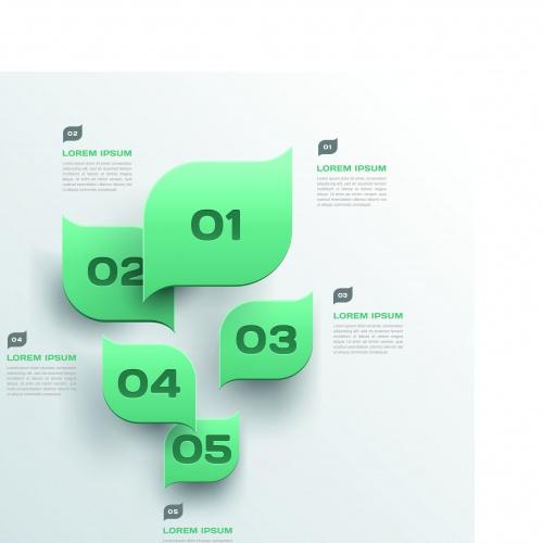 Инфографики креативный дизайн часть 89 | Infographic creative design vector set 89