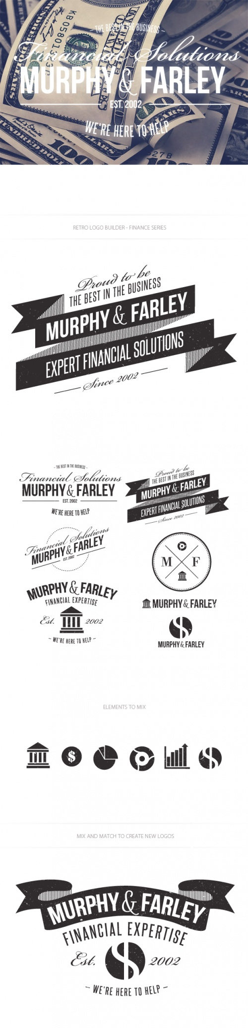 Finance Logo Vector Templates