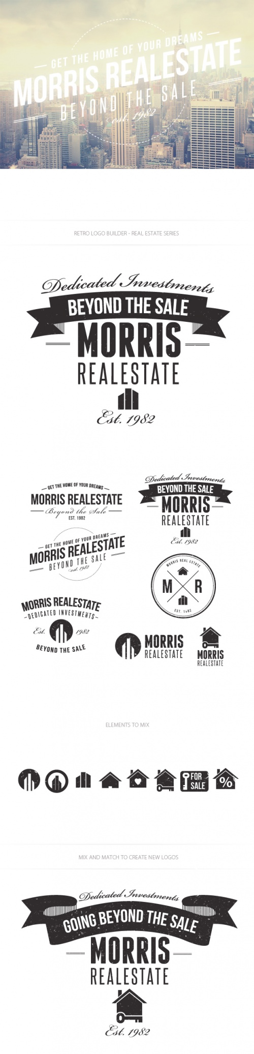 Real Estate Logo Vector Templates
