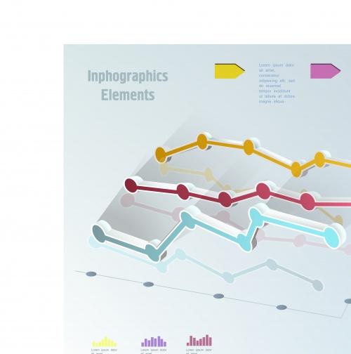 Инфографики и диаграммы часть 69 | Infographic and diagram design elements vector set 69