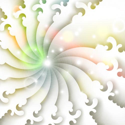 Сверкающие абстрактные фоны в векторе / Shine abstract backgrounds in vector