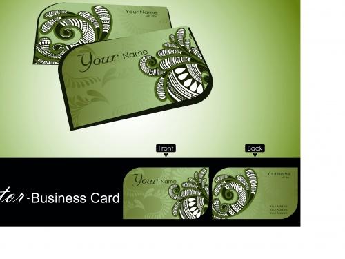 Элегантные бизнес карточки часть 8 | Elegant business cards vector 8