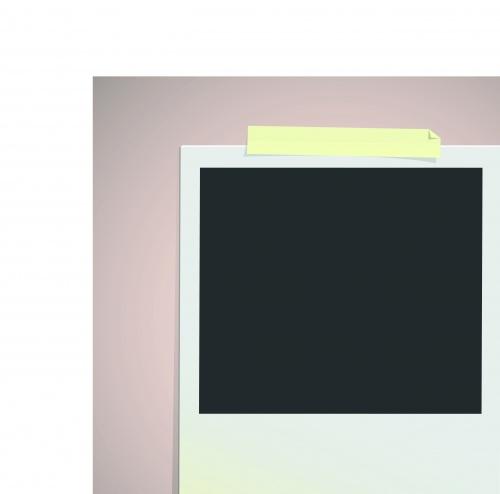 Рекламный чистый лист бумаги | Advertising blank sheet of paper vector