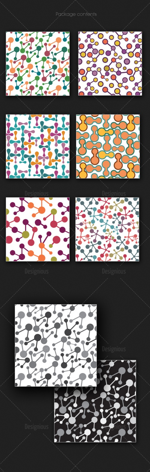 Seamless Patterns Vector Pack 168