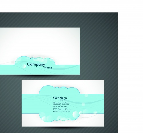 Элегантные бизнес карточки часть 6 | Elegant business cards vector 6