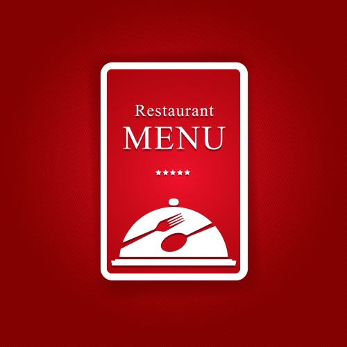 Фоны для меню в векторе / Restaurant and wireless coffee menu - vector stock