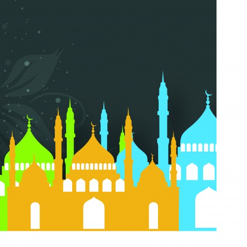 Прадник каллиграфия Ислам часть 7 | Eid Mubarak Arabic Islamic calligraphy vector set 7