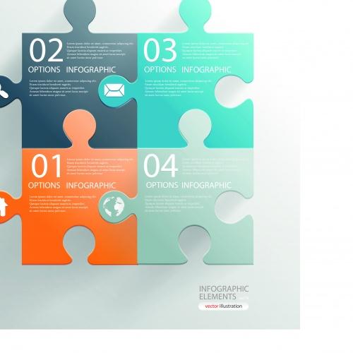 Инфографики креативный дизай часть 75 | Infographic creative design vector set 75