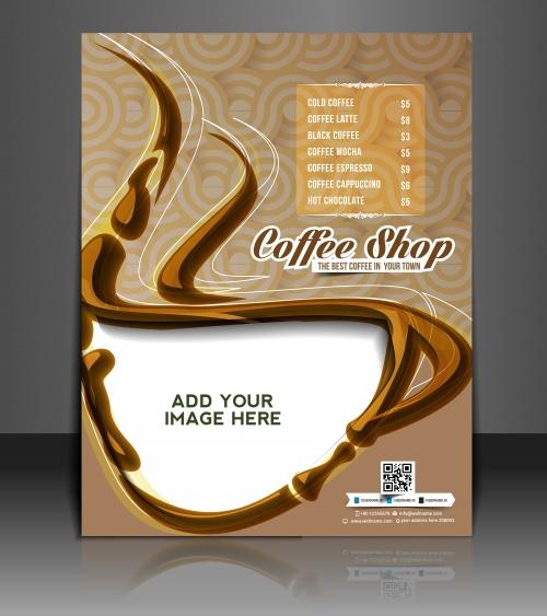 Флаера и бизнес брошюры в векторе, 3 / Vector puzzle business brochure, flyer3