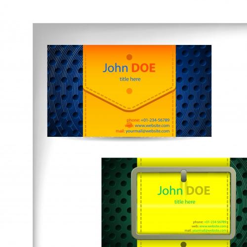Элегантные бизнес карточки часть 9   Elegant business cards vector 9