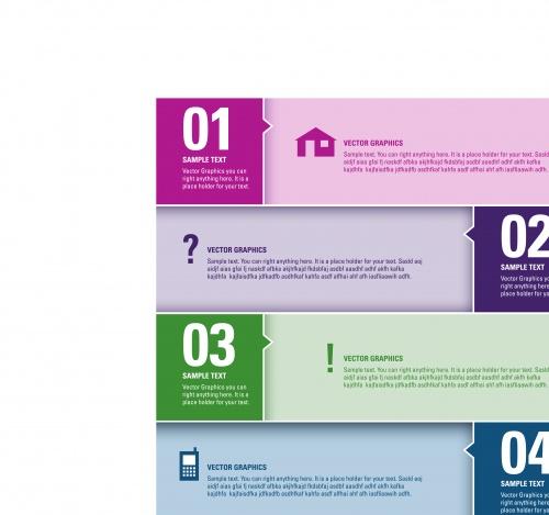 Инфографики креативный дизайн часть 73 | Infographic creative design vector set 73
