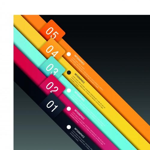Инфографики креативный дизайн часть 71 | Infographic creative design vector set 71