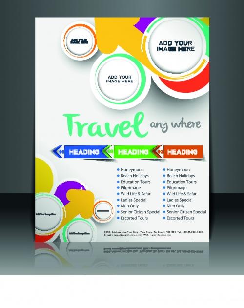 Бизнес флаеры брошюры и обложка журнала часть 9 | Business flyer brochure and magazine cover vector 9