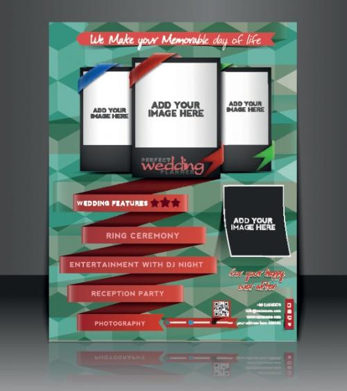 Бизнес флаеры брошюры и обложка журнала часть 9   Business flyer brochure and magazine cover vector 9