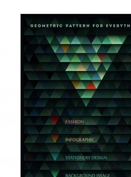 Геометрические бесшовные текстуры | Geometric pattern vector