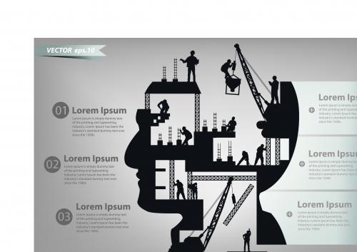 Инфографики креативный дизайн часть 72 | Infographic creative design vector set 72