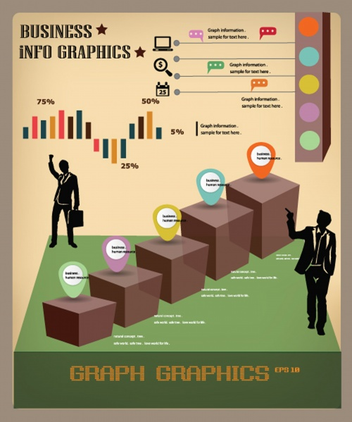Business and finance infographics elements