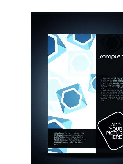 Флаеры современный дизайн | Flyer design modern style vector