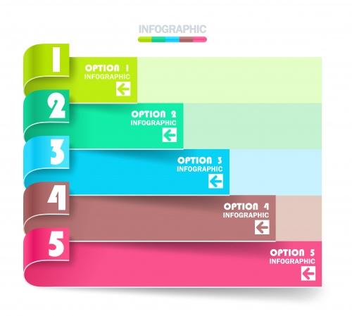 Креативные технологические элементы и инфографики, 2 / Creative design patterns, part 2 - vector stock