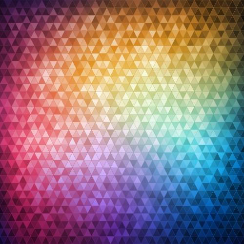 Мозаичные фоны - Векторный клипарт | Mosaic backgrounds - Stock Vectors