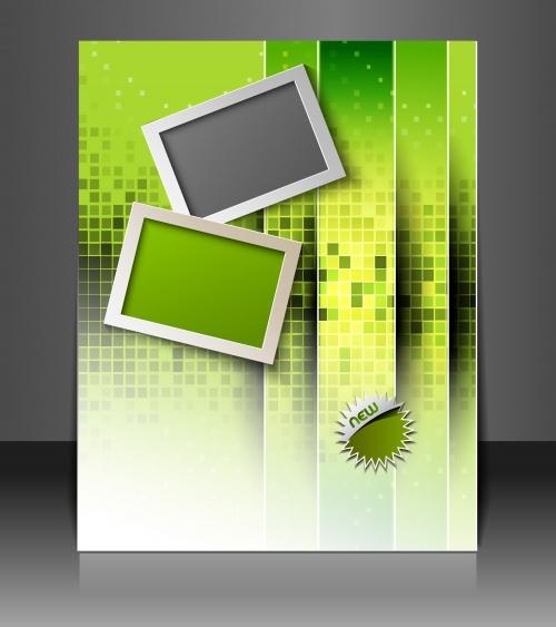 Абстрактные фоны с рамками в Векторе / Abstract backgrounds frames in Vector