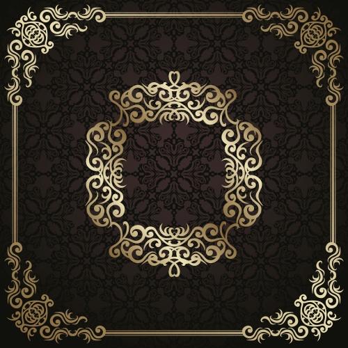 Golden ornaments & frames