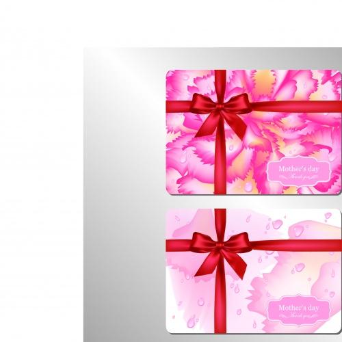 Классические поздравительные открытки | Classical congratulation gift card vector